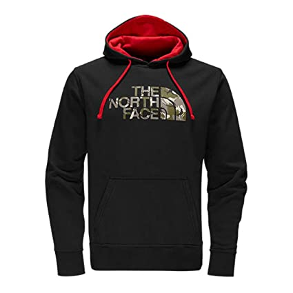 46fe5329b The North Face Men's Half Dome Homestead Pullover Hoodie, TNF Medium Grey  Heather/TNF Black Graffiti Print, Medium
