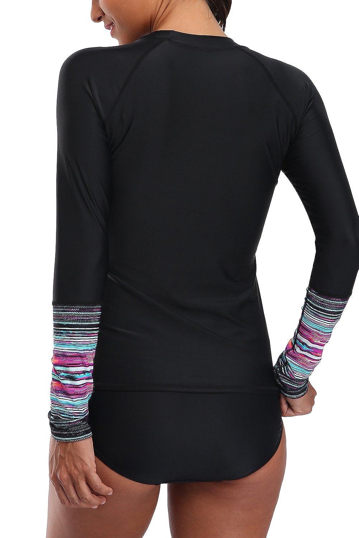UV Shirt Schwimmshirt UPF 50 Badeshirt Erwachsene UV-T-Shirt Surfshirt Sonne