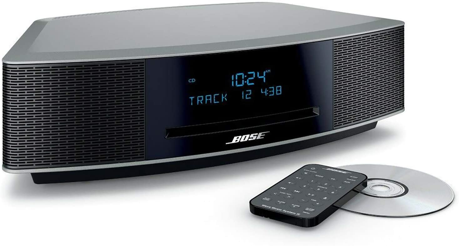 Bose Wave Music System IV - Platinum Silver (Renewed)