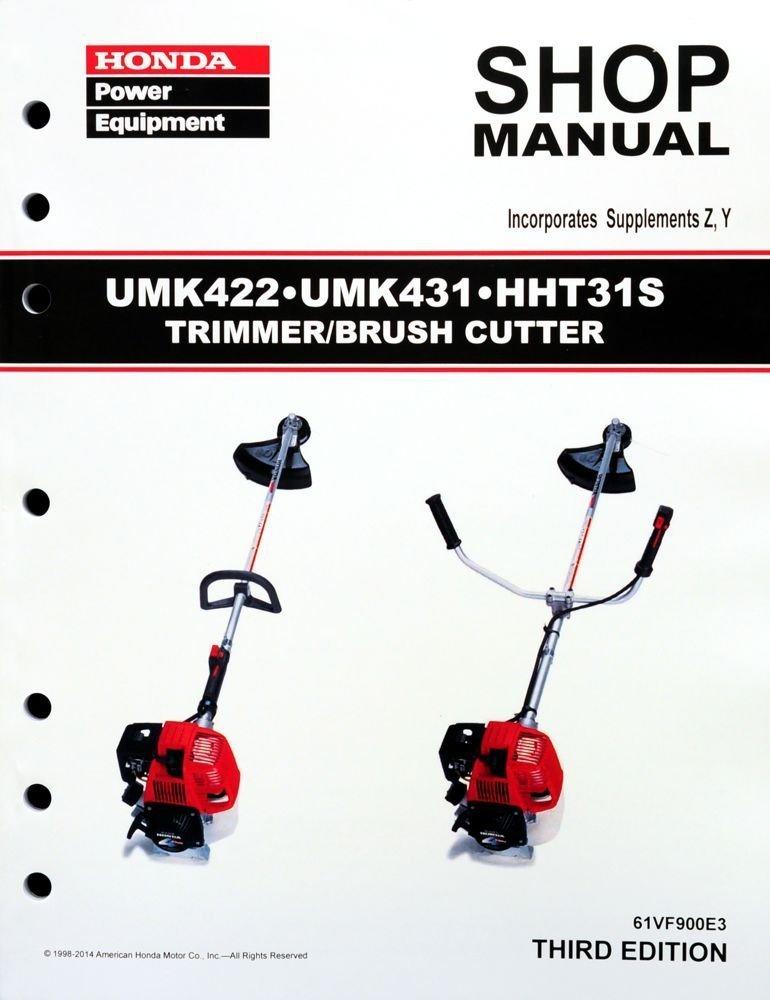 Honda Umk422 Manual
