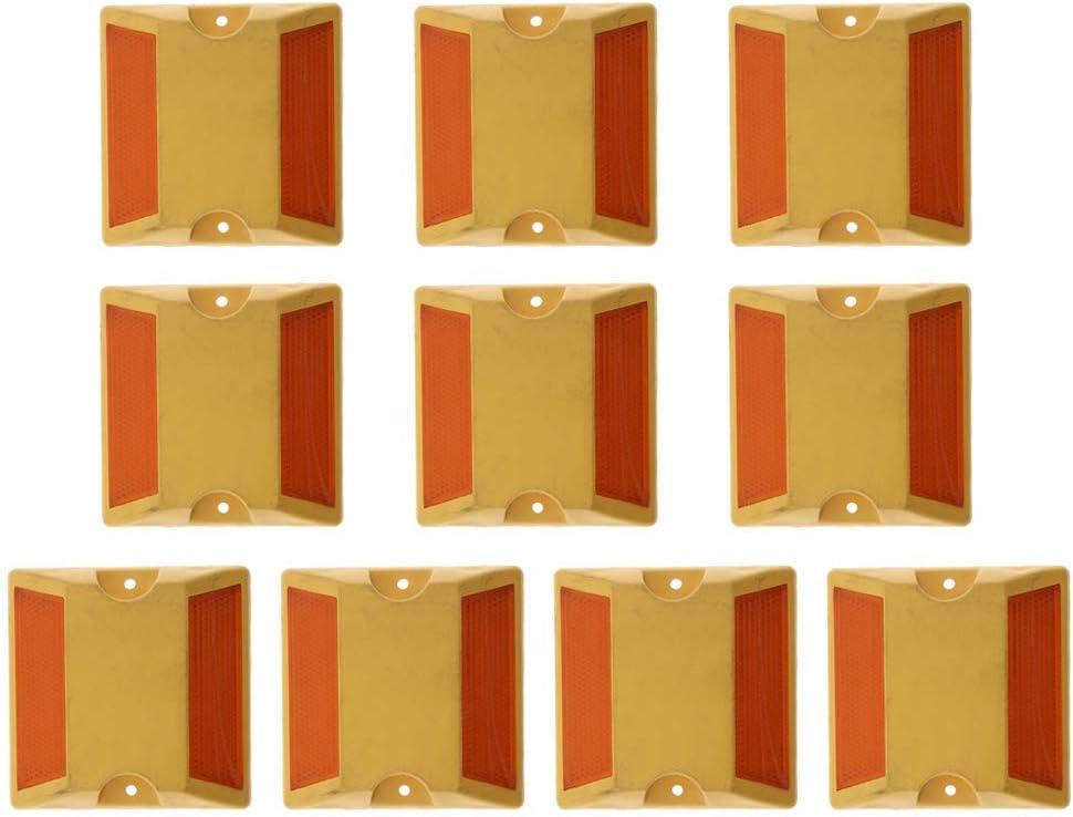 etc. Tubayia Lot de 10 marquages r/éfl/échissants pour parking garage all/ée escaliers