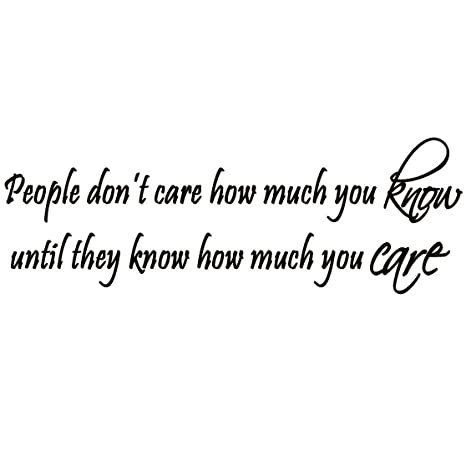 people dont care about you