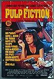 Original Miramax Films One Sheet Poster (27x41) for the Quentin Tarantino crime-drama-comedy masterpiece, PULP FICTION (1994) starring John Travolta, Samuel L. Jackson, Bruce Willis, and Uma Thurman. One of the most fascinating crime/drama/co...