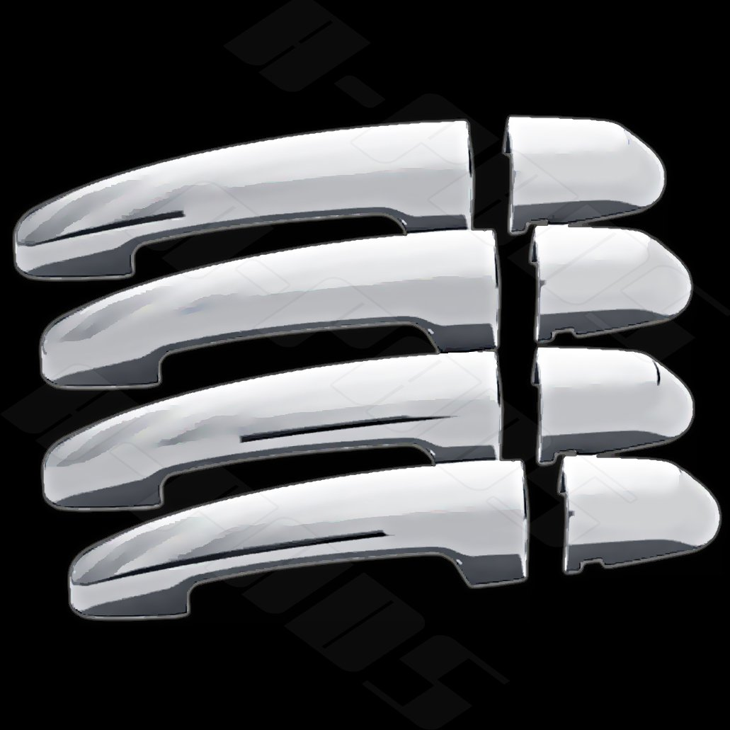 A-PADS 4 Chrome Door Handle Covers For Chevy IMPALA 2014 2015 2016 2017