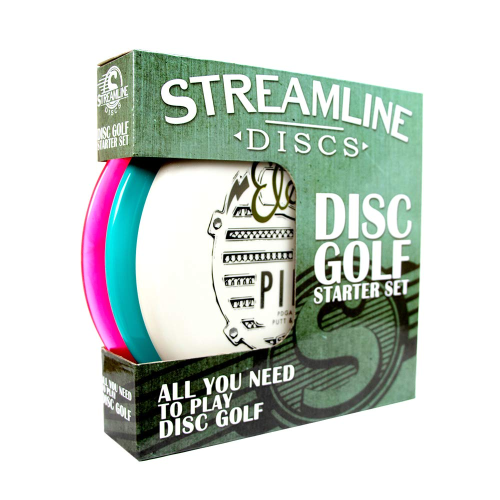 Streamline Discs 3-Disc Disc Golf Starter Set [Colors and Models May Vary] by Streamline