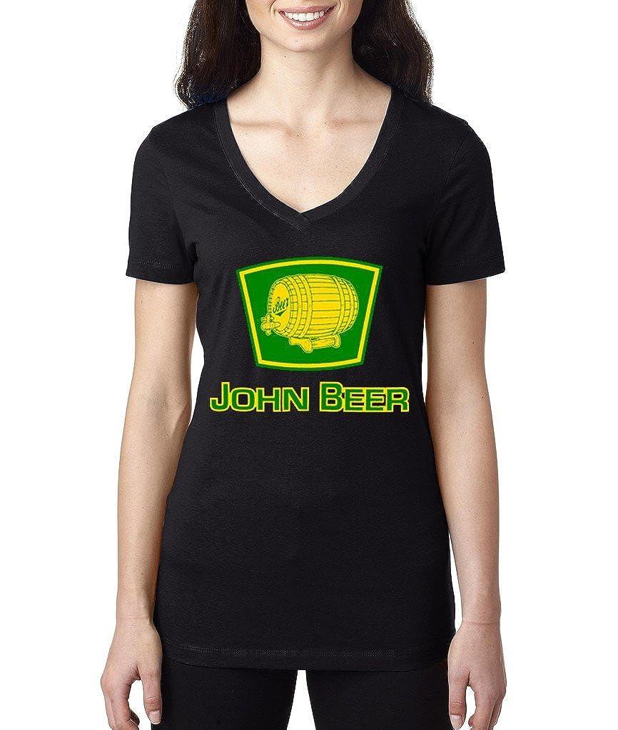 VISHTEA John Beer Funny Irish Day Drinking T-Shirt Proud Irish Shamrock Shirts