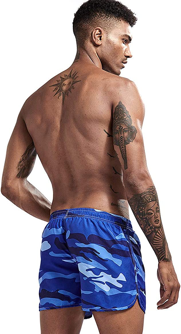 AIMPACT Mens Running Shorts Breathing Athletic Gym Mesh Shorts for Men