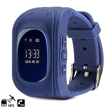 DAM TEKKIWEAR. DMW007DBL. Smartwatch GPS Q50 Especial para Niños, con Función De Rastreo