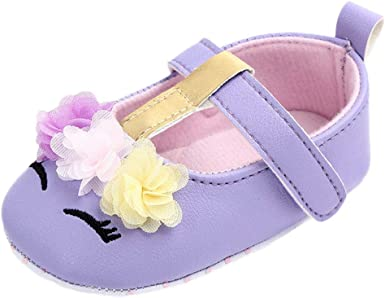 Baby Girls Newborn Infant Flower Canvas Shoes Casual First Walkers Toddler Shoes