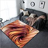 Vanfan Design Home Decorative 270524633 Dynamic Color series Artistic abstraction composed of streams of paint on the subject of forces of nature art design and creativity Modern Non-Slip Doormats Ca