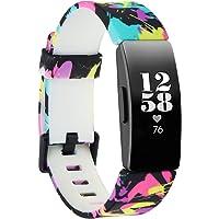 Baaletc Compatibel met Fitbit Inspire/Inspire HR Band,Zachte Siliconen Band Vervanging Polsband vervanging voor Fitbit…
