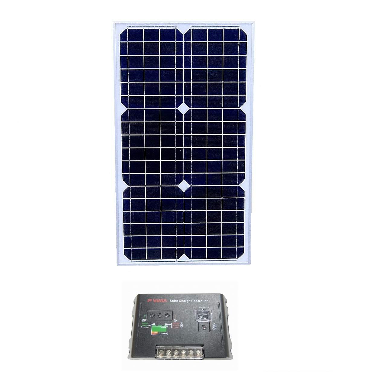 2019年秋冬新作 単結晶 B075W6GZ34 ソーラーパネル ソーラーパネル 150W2枚+20Aチャージコントローラーセット!12V蓄電に B075W6GZ34 単結晶 30W 30W, タイニーピクシス:5c0e42c2 --- a0267596.xsph.ru