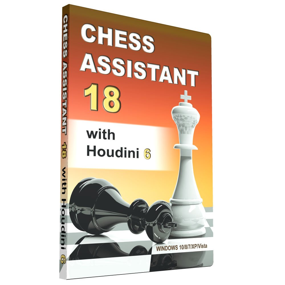 Amazon com: Chess Assistant 18 with Houdini 6: Video Games
