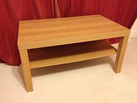 Ikea Oak Effect Coffee Table Amazon Co Uk Kitchen Home