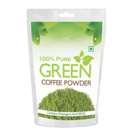 Health First 100 Pure Green Coffee Beans Powder 200 G Amazon