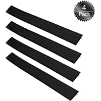 Silicone Stove Counter Gap Cover, 4Pack Oumers Kitchen Oven Strip Heat-Resistant and Safety Easy to Clean