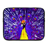 Peacock Colored Laptop Bag, 15 Inch Notebook Briefcase Laptop Sleeve Bag Cover For 15 Inch Inch Ultrabook / Lenovo Dell / MacBook Pro / Macbook Air,Travel,Business,College