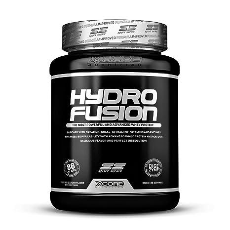 XCore Hydro Fusion Proteína de Suero de Leche en Polvo 900g - Suplemento para el Crecimiento