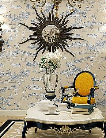 laps art deco tapete moderner wand-beschichtung, rolle nicht ... - Wandbeschichtung Küche