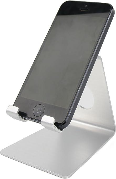 DURAGADGET Atril De Aluminio Compatible con Smartphone Samsung ...