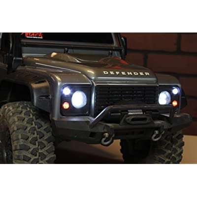 MyTrickRC TD1 TRX4 UF-7 Light Bar Kit- with Headlights, Tail / Brake: Toys & Games