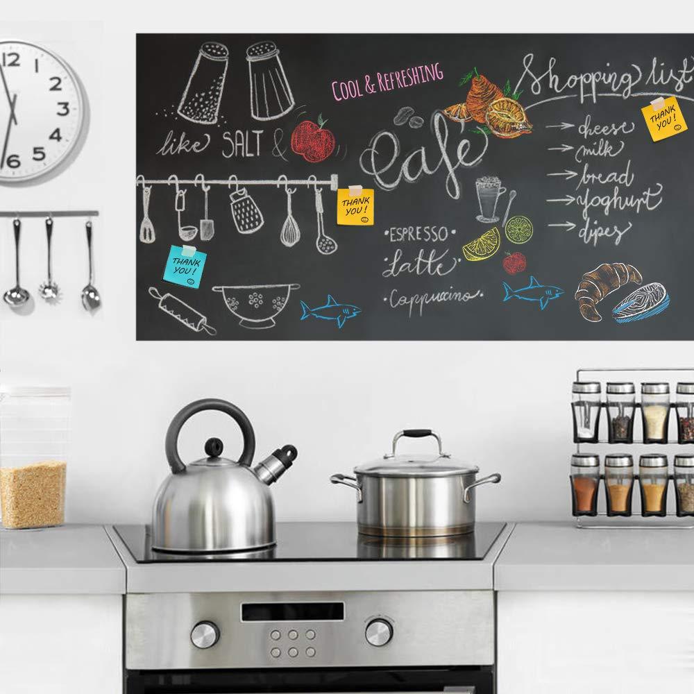 Rabbitgoo Tafelfolie Selbstklebend Kreidetafel Kinder Blackboard