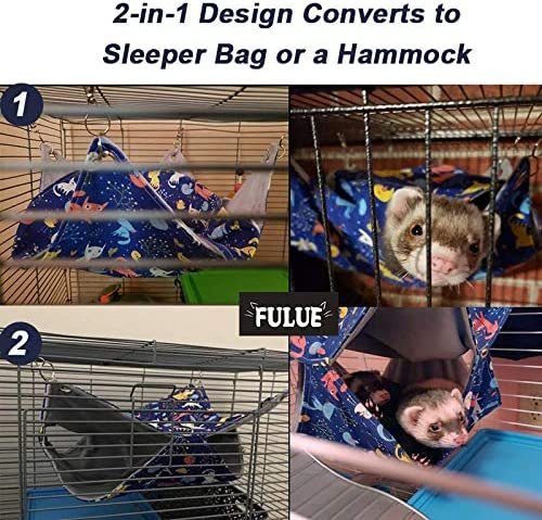 Pig Carrond hammock from India and ferret