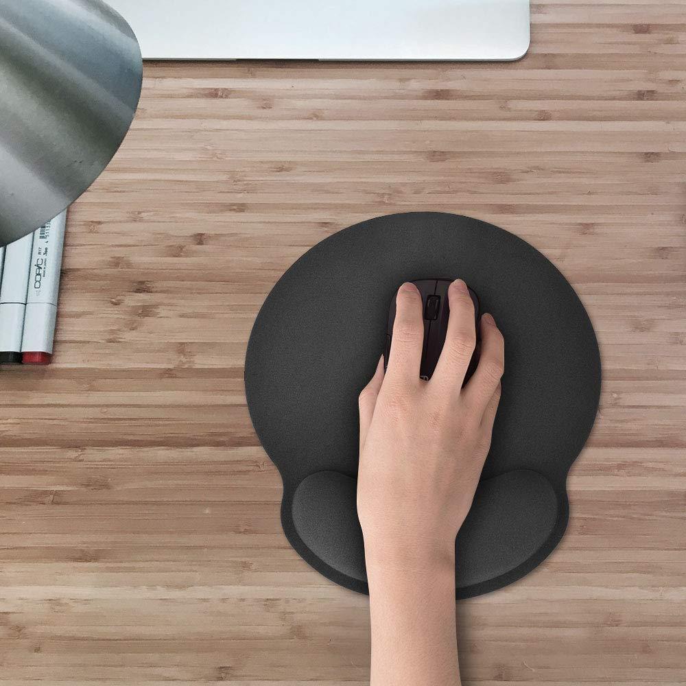 Mauspad Gel Letilio Mouse Pad Mauspad und Maus Mauspad aus Memory Foam Mauspad und Tastaturpad Mauspad mit Handgelenkst/ütze Soft Comfort s f/ür Personal Office-Spieler und Studenten