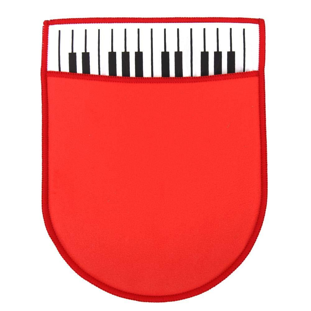 Guanti per la Pulizia del Pianoforte Strumento Musicale Morbido Panno in Microfibra per la Pulizia Accessori per la Cura della Pulizia Drfeify Chiavi per Pianoforte Panno Pulito