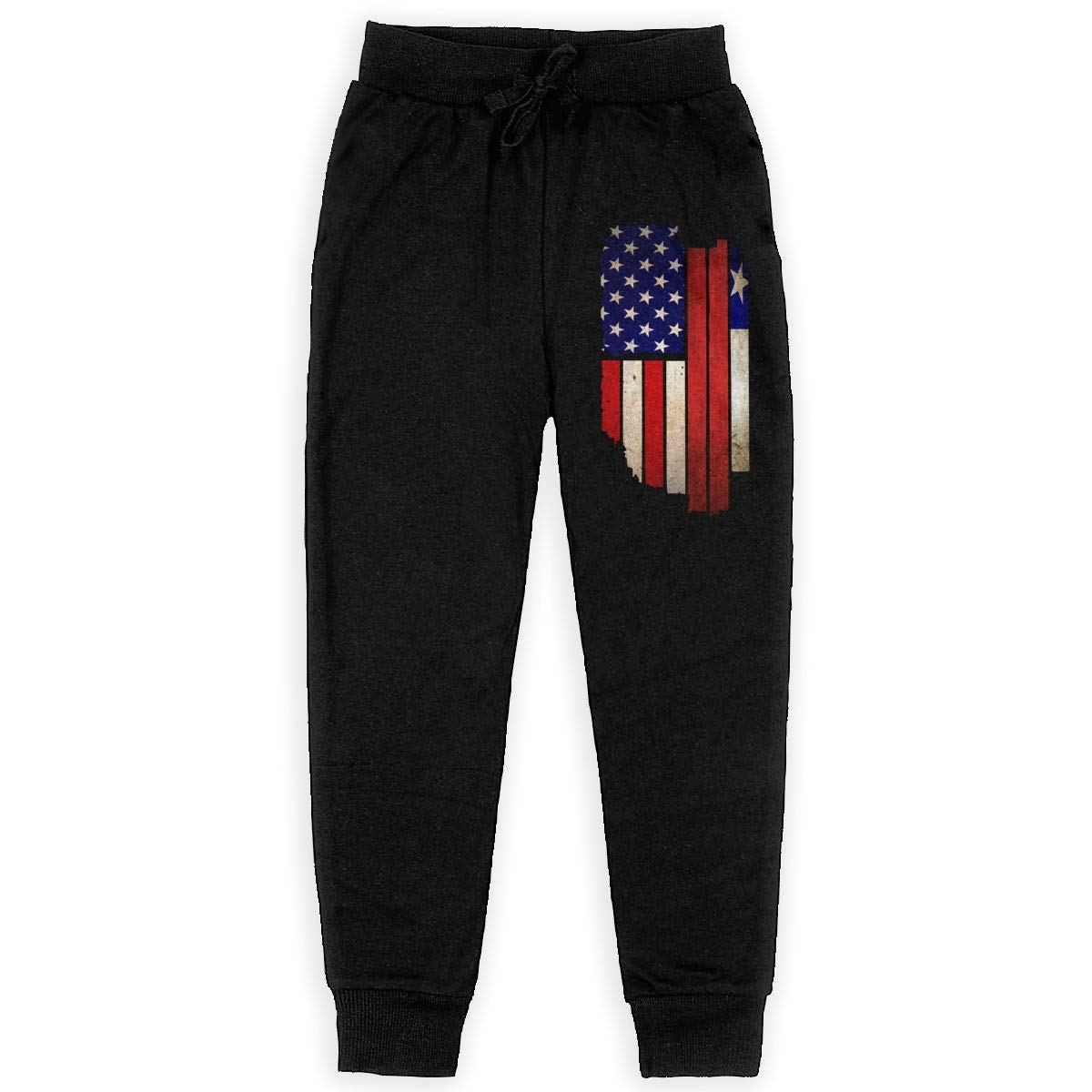 Girls Trousers Girls for Teen Girls Vintage USA Chile Flag Soft//Cozy Sweatpants