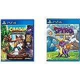 Crash Bandicoot N. Sane Trilogy (PS4) with Spyro Trilogy Reignited (PS4)