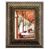 Lawrence Frames Bronze Basket Weave 5x7 Picture Frame