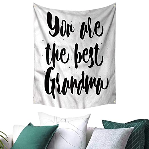 Amazon.com: sunsunshine Grandma Tapestry Wall Hanging 3D ...