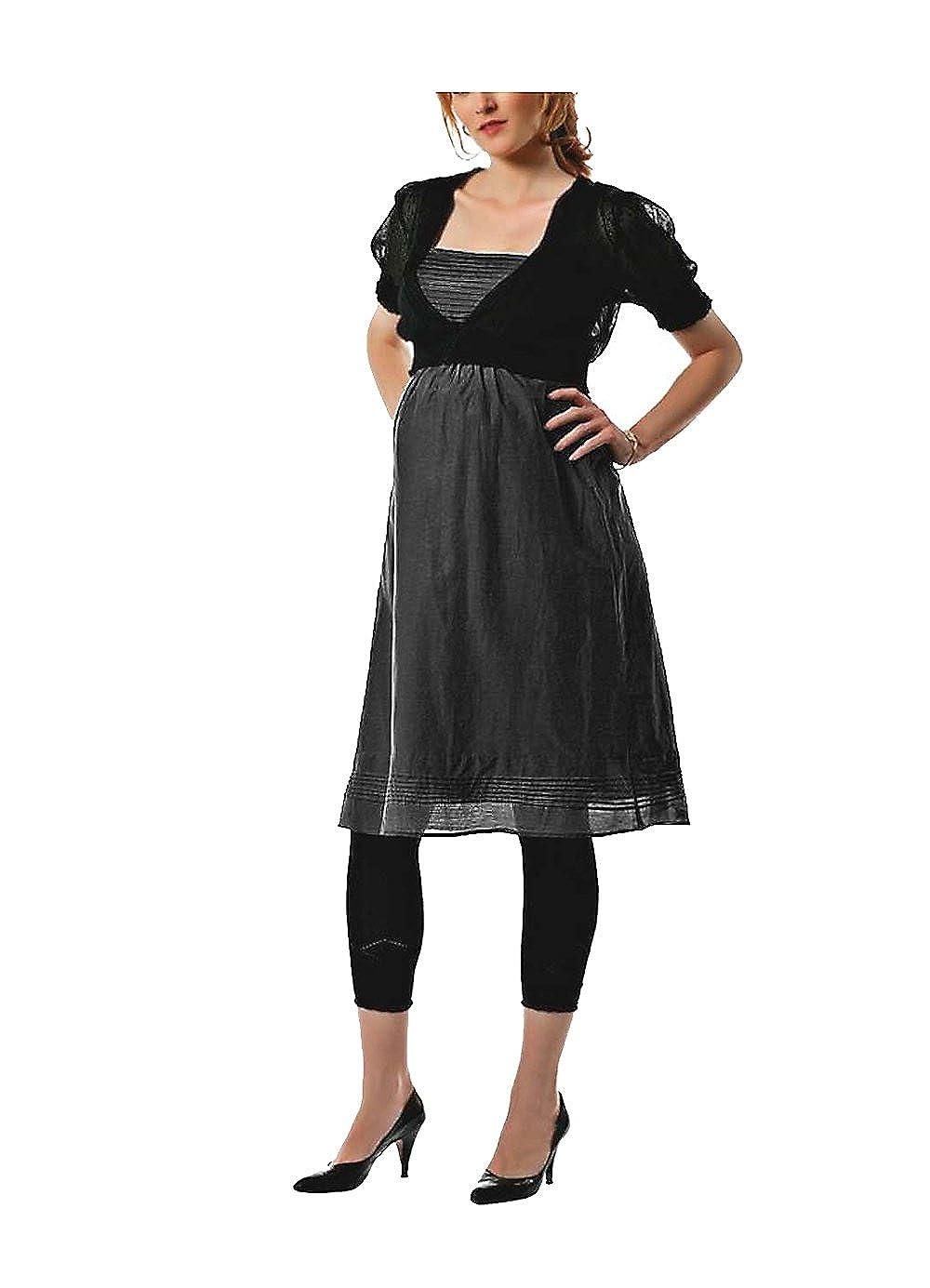 Ama Licious de mujer vestido de seda con embarazadas vestido gris tamaño L: Amazon.es: Ropa y accesorios