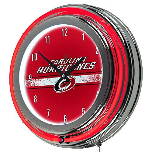 Trademark Gameroom NHL Carolina Hurricanes Chrome Double Rung Neon ()