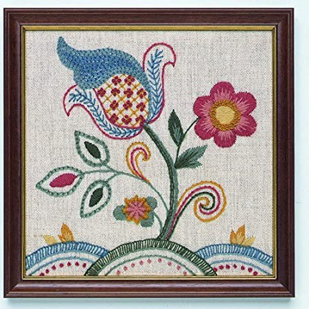 Coleshill Collection Jacobean Crewel Embroidery Kit Amazon
