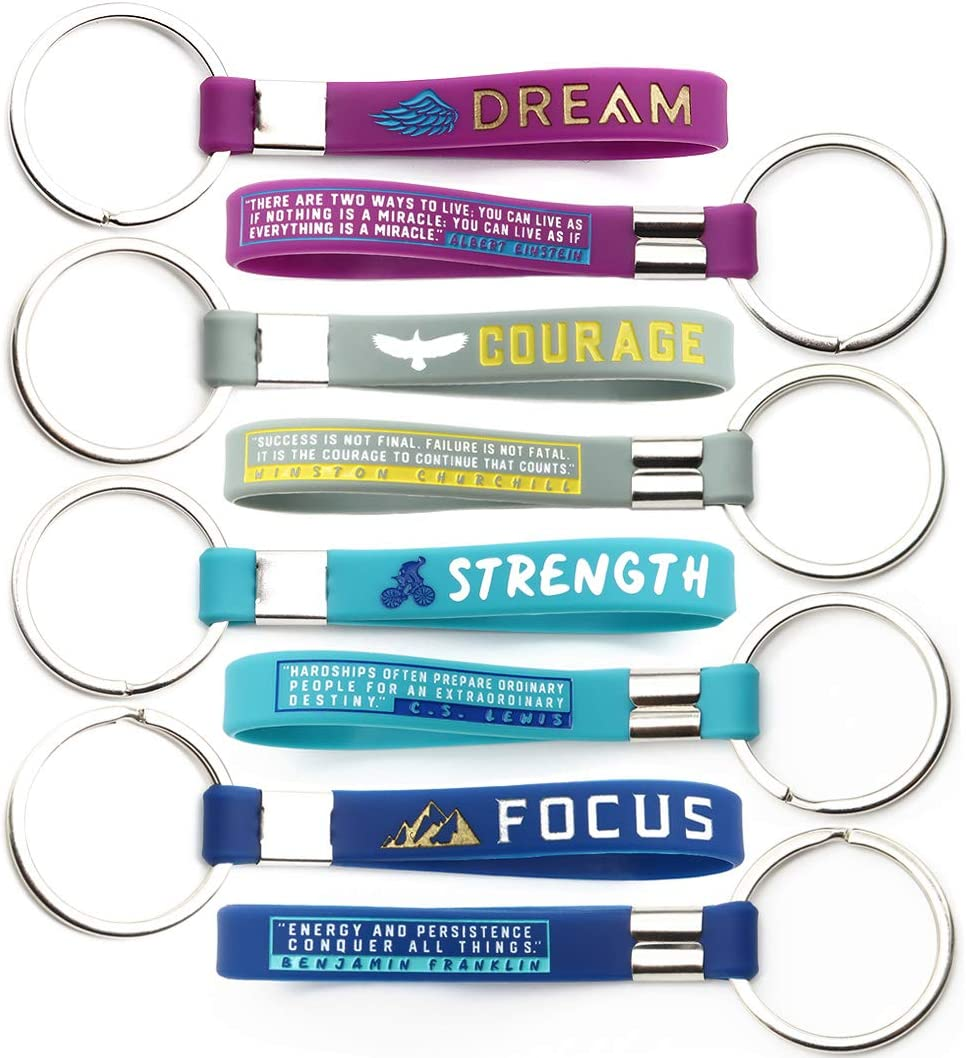 Thank You Appreciation Gifts For Staff Motivational Keychains With Inspirational Quotes Small Bulk Gifts For Coworkers And Employees 12 Pack Wholesale Bulk Keychains For Corporate Office Gifts Sareg Com