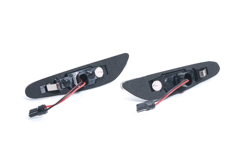 Frecce laterali a LED sinistra e destra cromate e trasparenti omologate SHIN YO