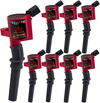 High Energy Ignition Coil Pack For Ford F150 F250 F550 4.6//5.4L DG508 V8 Lincoln