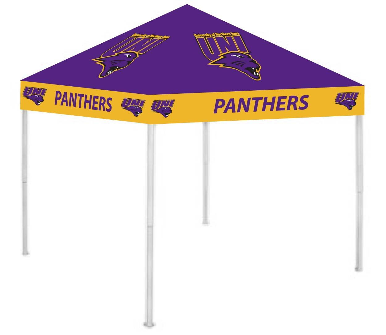 Rivalry RV315-5000 Northern Iowa Canopy B004NWGCUS 9 x 9|Northern Iowa Panthers Northern Iowa Panthers 9 x 9
