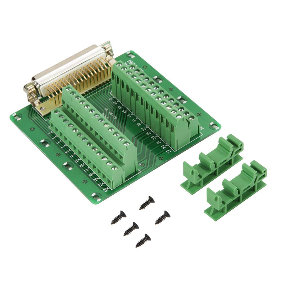 "IDC10 2x5 Pins 0.1/"" Male Header Breakout PCB Board 2 Row PLC adapter Interface"