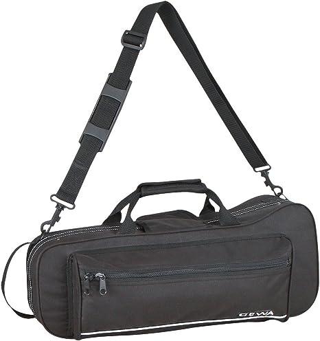 GEWA 708200 - Estuche con forma para trompeta, ligero, color negro: Amazon.es: Instrumentos musicales