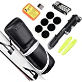 Kit de reparo de bicicleta Blusea kit de ferramentas de reparo de bicicleta portátil caixa de kit de fixação de pneu bolsa co