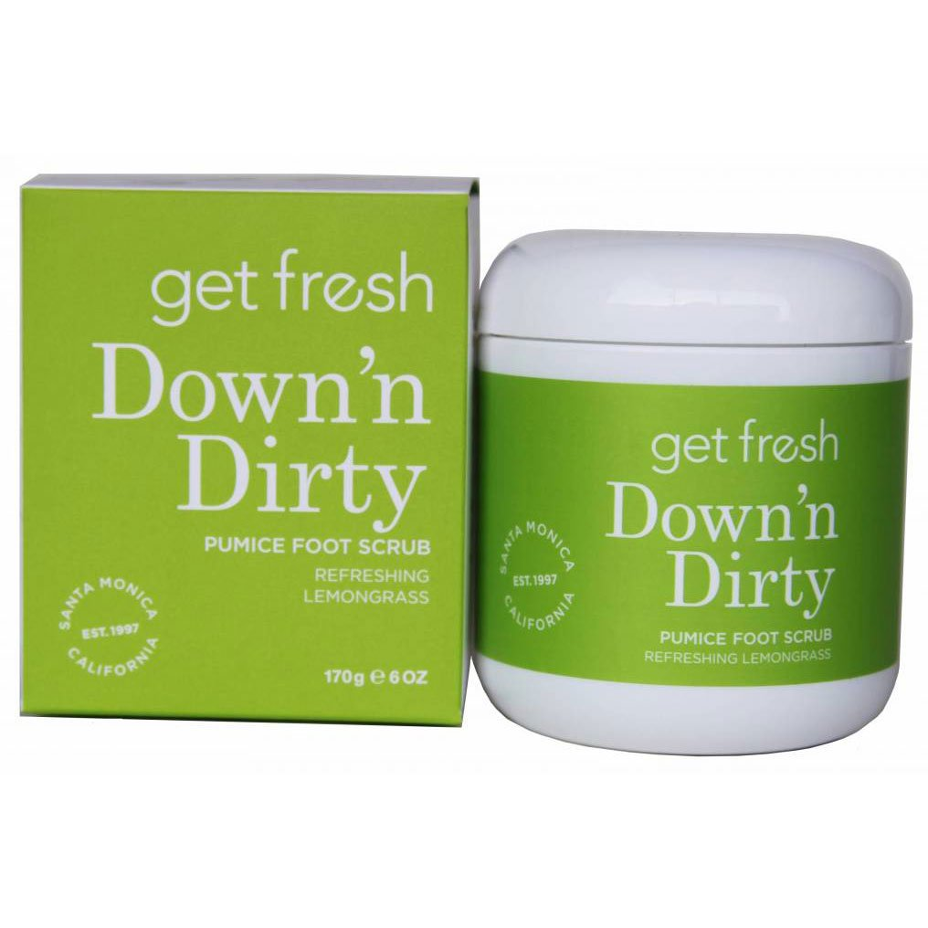 Get Fresh - Down`n Dirty Pumice Foot Scrub (6 oz.) 664629119316