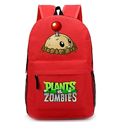 Siawasey Cute Plants Zombie Hot Game Bookbag Backpack School Shoulder Bag(18 Styles)
