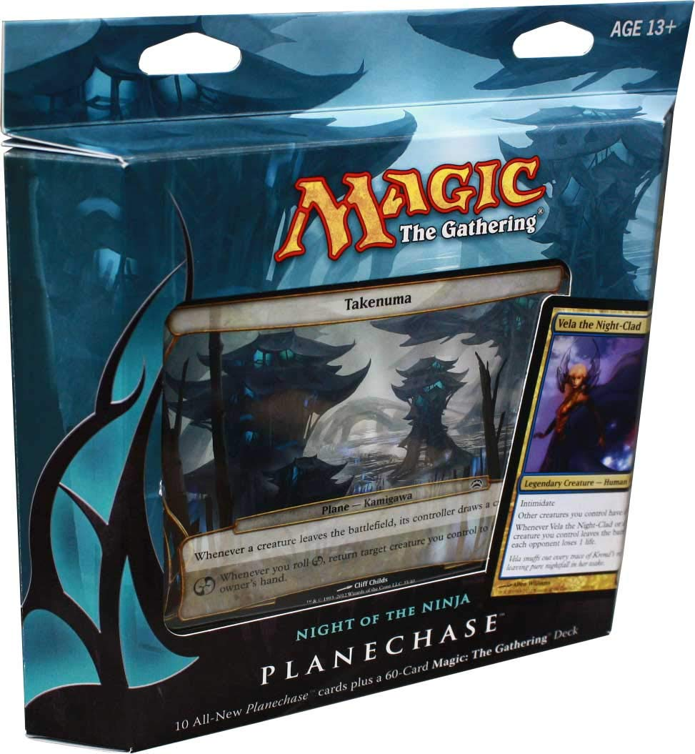 GTS Distribution Magic the Gathering- MTG: Planechase (2012 Edition) Primordial Hunger - Game Pack