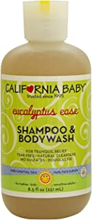 product image for California Baby Eucalyptus Ease Shampoo and Body Wash - Hair, Face, and Body | Gentle, Allergy Tested | Dry, Sensitive Skin, (8.5 oz)