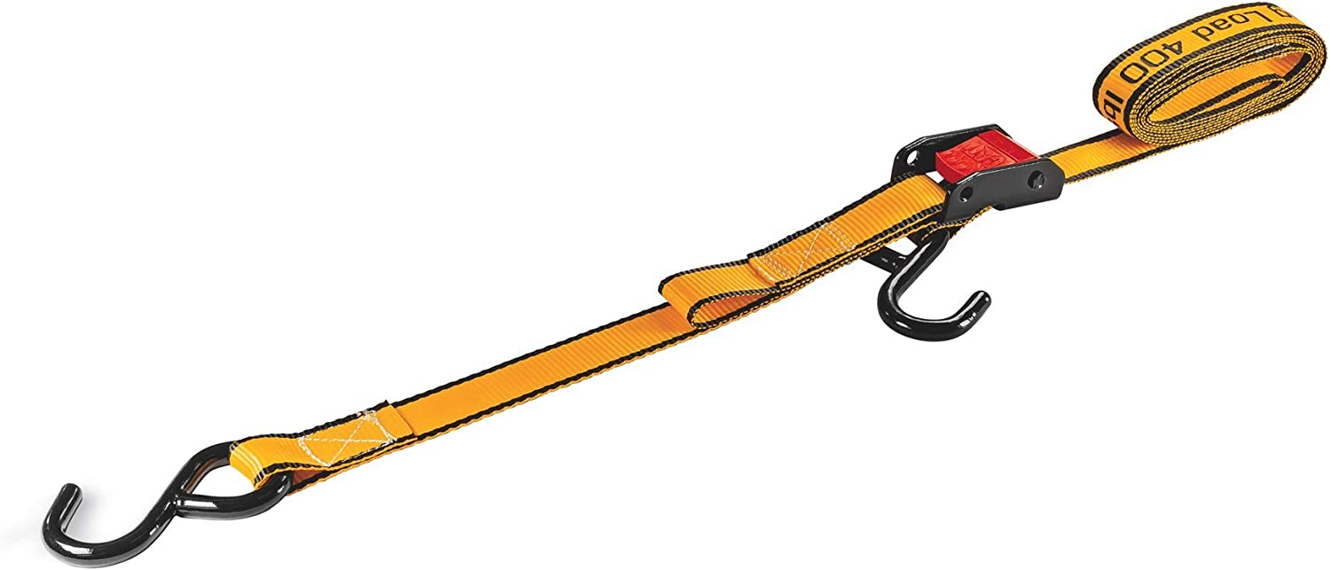 Cat 4 Piece Cambuckle Tie-Down Straps 400 lb 1 in x 6 ft - 980072N