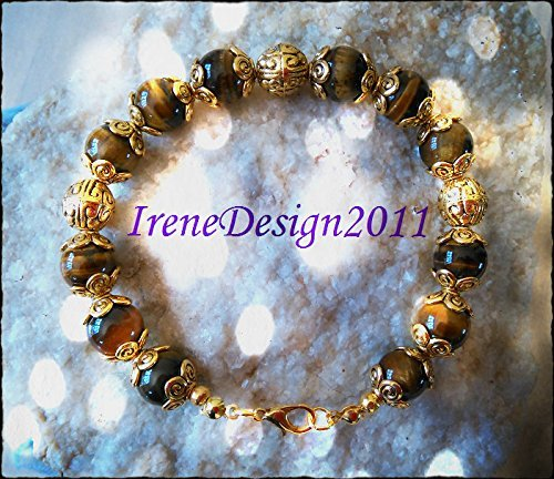 Tiger's Eye Gold Bracelet