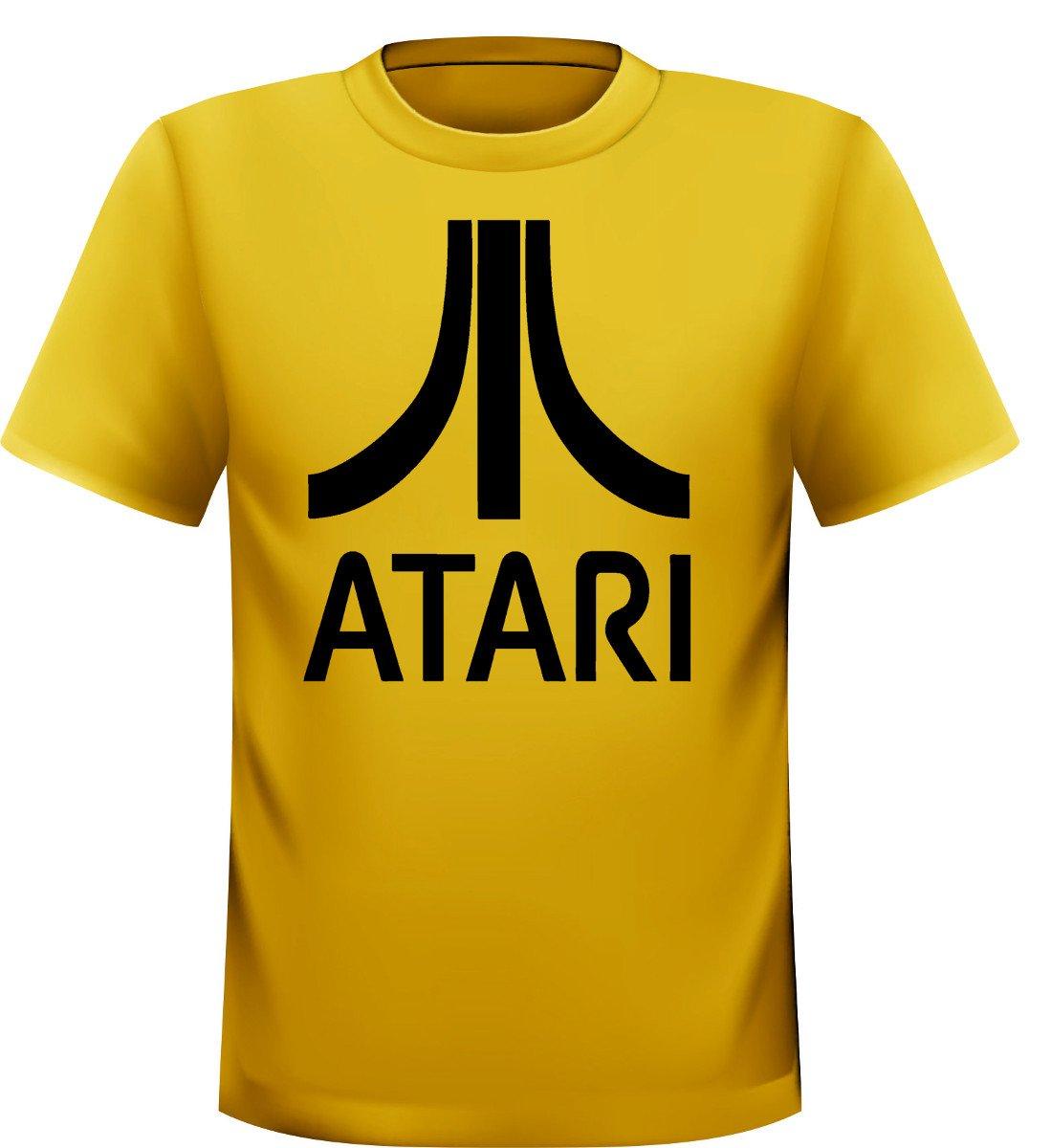 Camiseta de Atari Logo Amarillo Streetwall